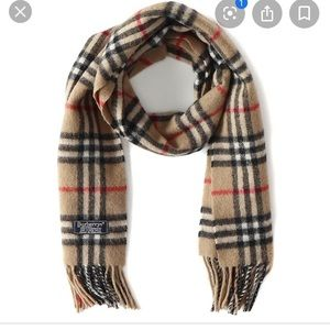 Burberry Cashmere/Wool Scarf
